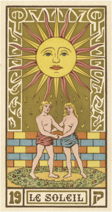 The Latin Tarot Sun Card