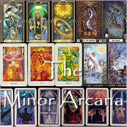 Lotus Tarot - The Minor Arcana