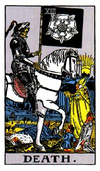 The Death Tarot Card Meaning