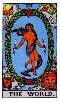 The World Tarot Card Meaning