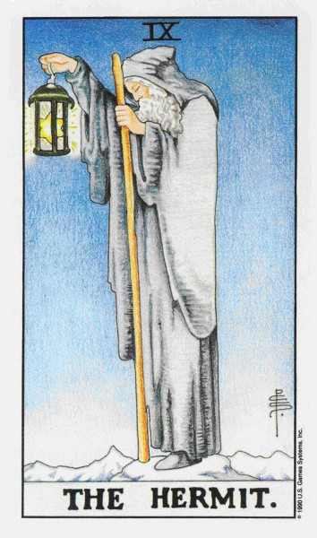 The Hermit Tarot Card In Detail