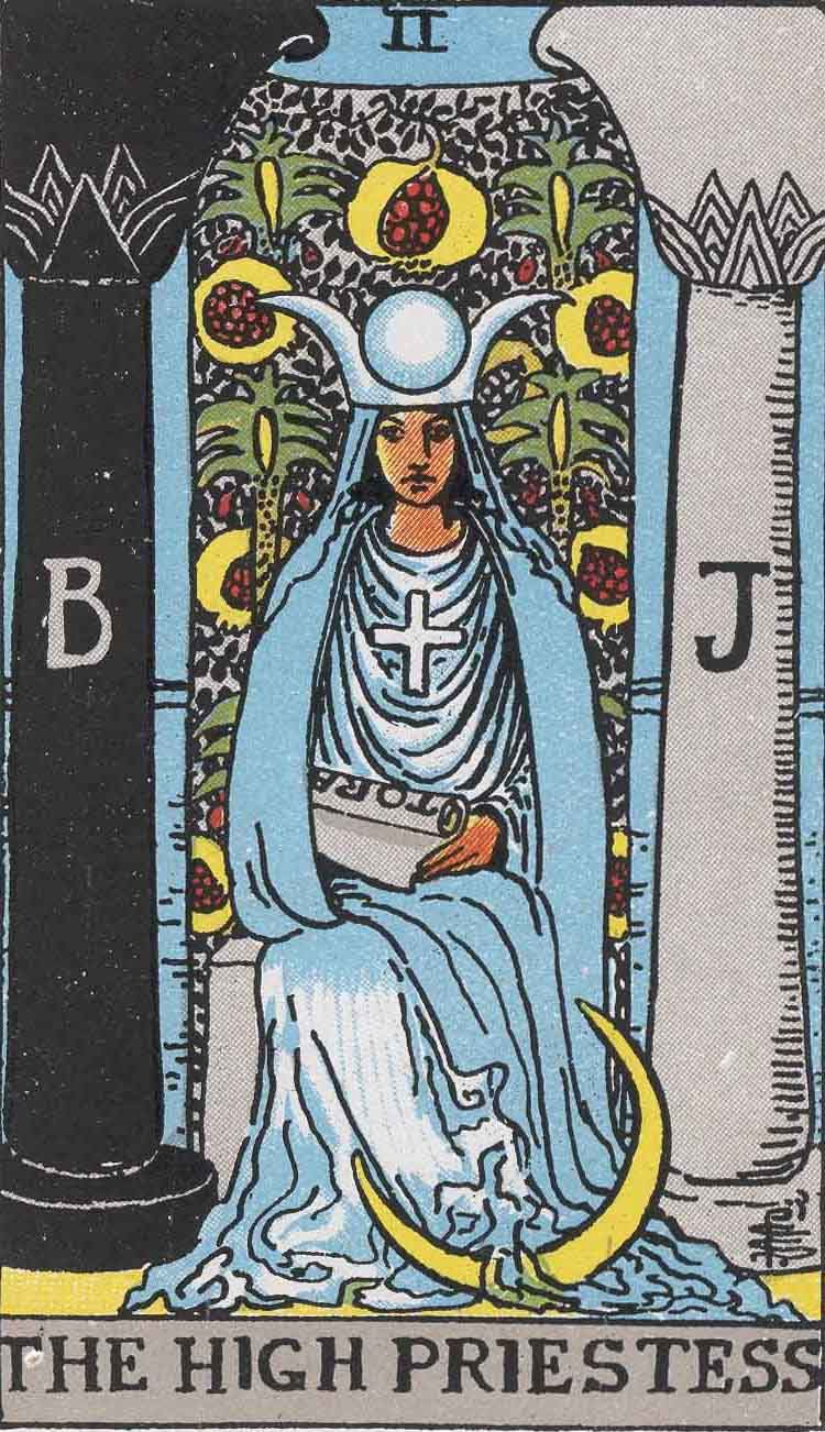 The High Priestess Tarot Card Defined