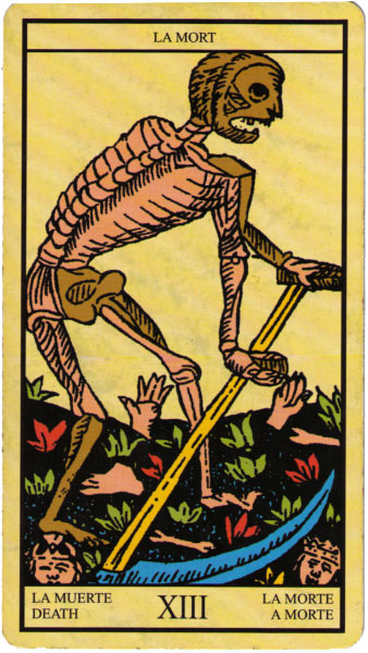 Photo of The Latin Tarot Death Card