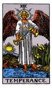 The Temperance Tarot Card Meaning