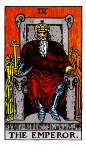 The Emperor Tarot Card